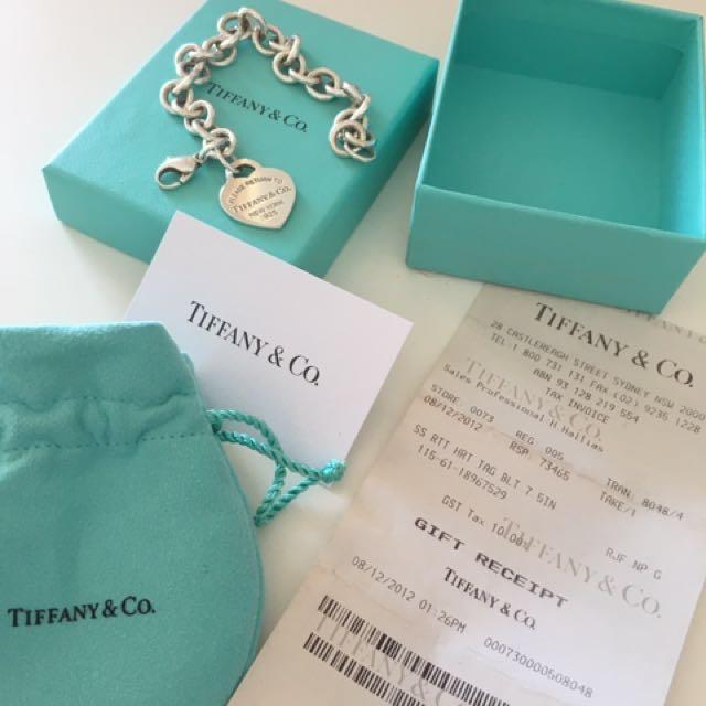 Tiffany bracelet RRP $510