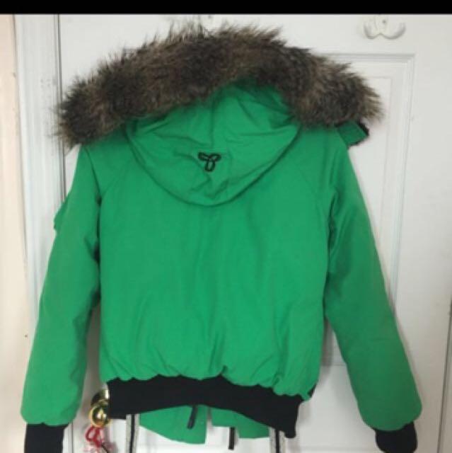 TNA down jacket size xxs
