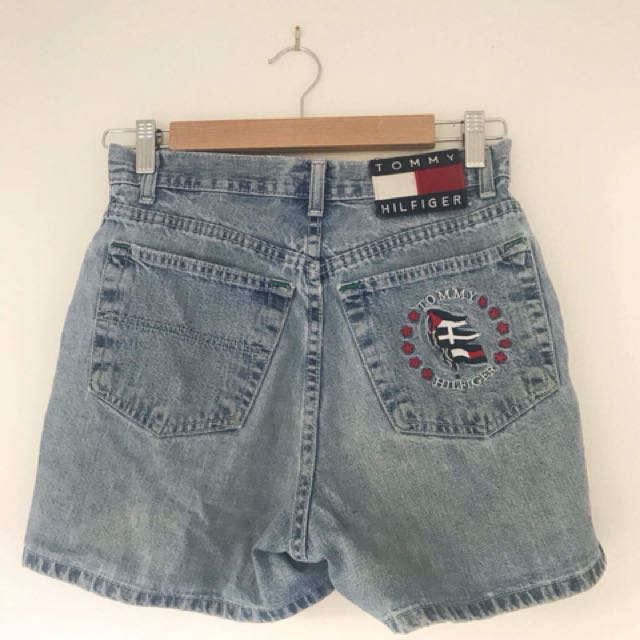 Tommy Hilfiger high wasted shorts