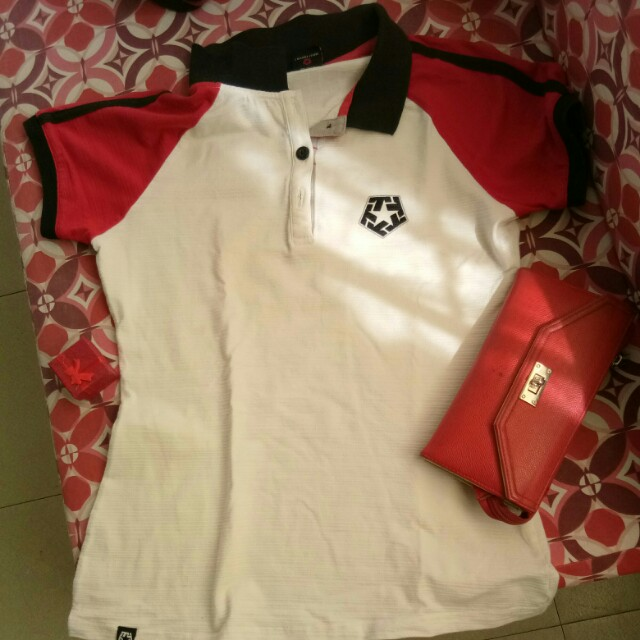 Tribal Polo Shirt Medium