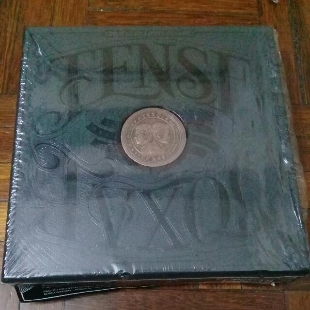 TVXQ TENSE BLACK VERSION ALBUM