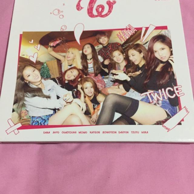 Twice first mini album
