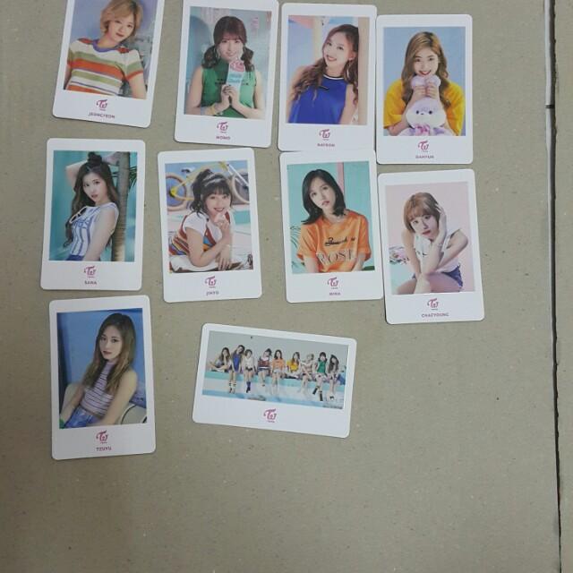 Twice shibuya 109 photocard member sell