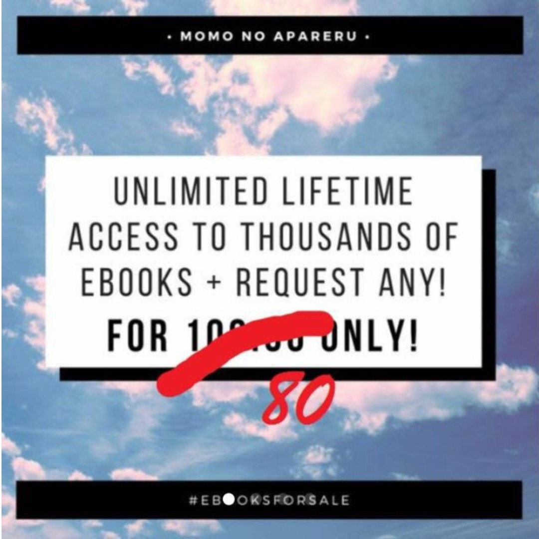 Unlimited Ebook Lifetime Access