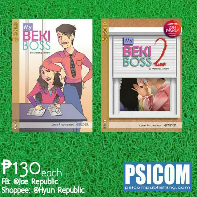 [Wattpad Books] My Beki Boss Vol. 1&2