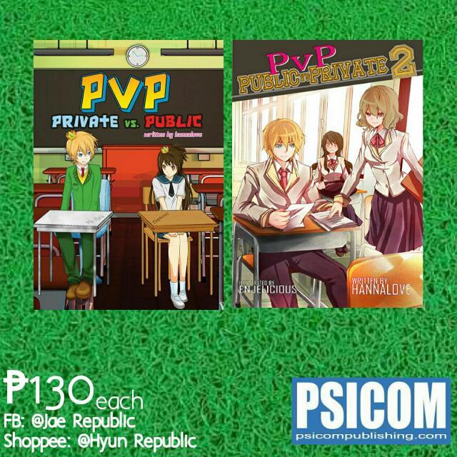 [Wattpad Books] Public Vs. Private Pt. 1&2