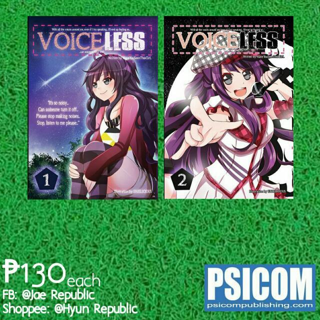 [Wattpad Books] Voiceless Vol. 1&2