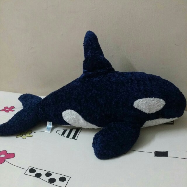 Whale Stuffed Toy