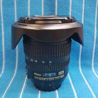 Nikon 12-24/4 G