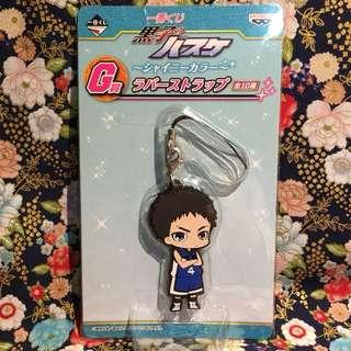 [Yukio Kasamatsu] G Prize Rubber Mascot Strap, 2013 Shiny Color Ichiban Kuji (from Kuroko no Basuke)