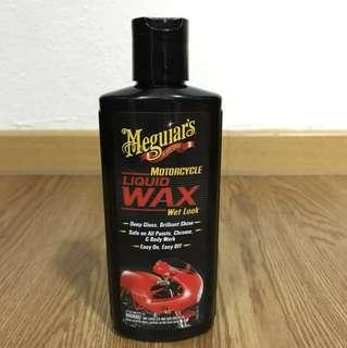 Meguiars Motorcycle Liquid Wax Wet Look 177 ml