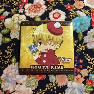 [Ryota Kise] Christmas Square Badge - Santa Outfit (from Kuroko no Basuke)