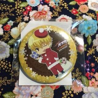 [Ryota Kise] Christmas Badge - Santa Outfit (from Kuroko no Basuke)