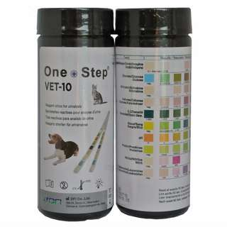 Urine Test Strips for dogs w Sterile Bottle and Insert