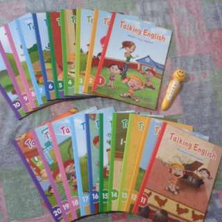 Talking English Book Set