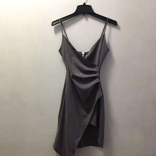 GREY SHOP M BOUTIQUE SLIT DRESS