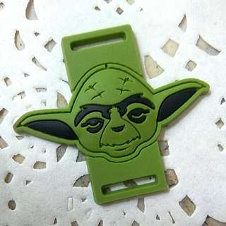 "Sneakers/Rubber Shoes Charms: Star Wars ""Yoda"" (Gift Idea)"