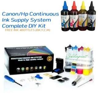 CISS DIY Continuous Printer Ink Supplies