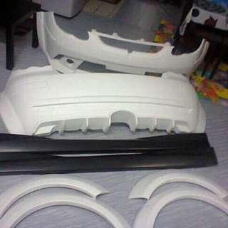 Satria Neo CPS Bodykit