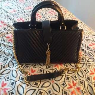 Bebe black hand bag