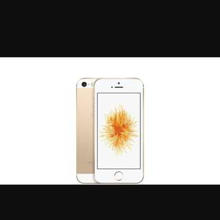Unlocked Gold iPhone SE