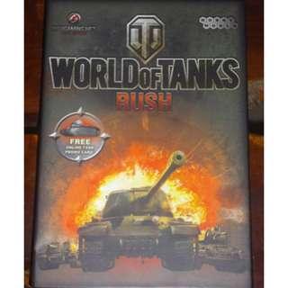 World of Tanks: Rush Deckbuilding Card game / Board Game