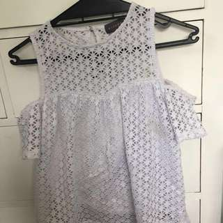 Mirrou Lace Top