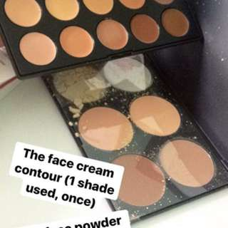 The Face Cream & Powder contour