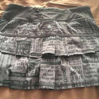 Lululemon skirt size 4 regular *Price Drop*