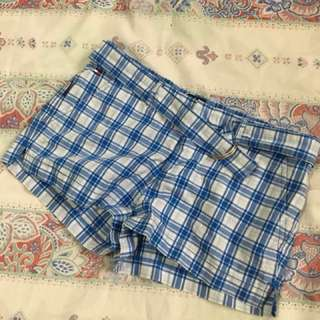 Tommy Jeans Plaid Shorts