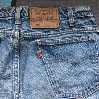 Levi's 古著 橘標 美國製 505 31腰