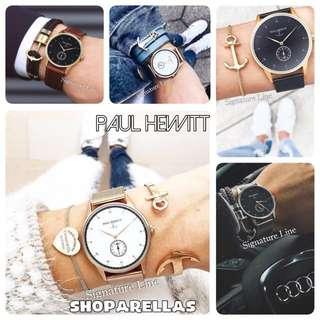 (預售)德國Paul Hewitt Signature Line 系列手錶 情侶手錶