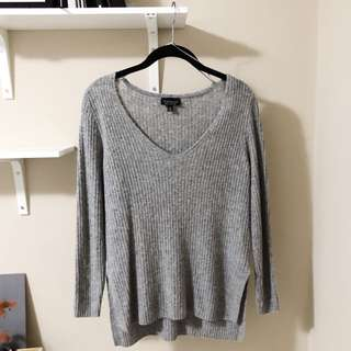 TOPSHOP LONG SLEEVE WITH SLITS