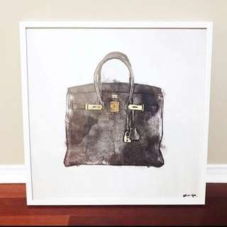 """RARE Oliver Gal painting """"Hermes"""""""