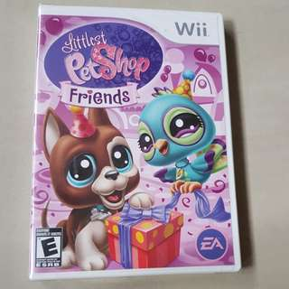 Nintendo Wii Littlest Pet Shop Friends Sealed