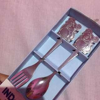Sendok garpu anak