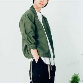 絕版品 - plain-me 斜紋日式 NORAGI 軍綠