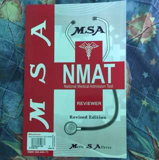 NMAT Reviewer by MSA