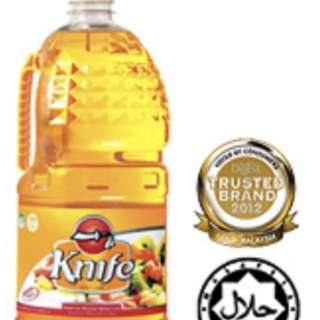 5 litres knife cooking oil