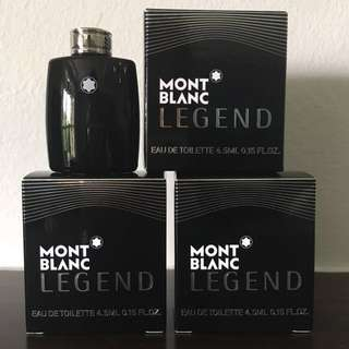 Mont Blanc Legend Mini x3