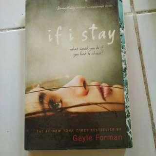 Dijuaalll novel inggris if i stay