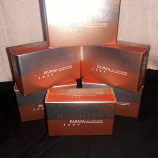 NLIGHTEN Kojic Papaya Soap w/ Glutathione