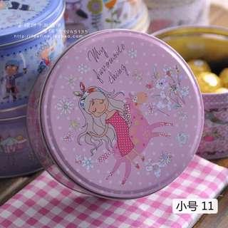 Sale! Beautiful Metal Cookie Tin