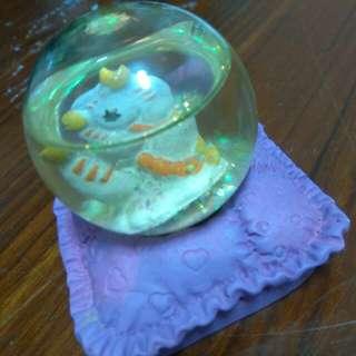 天蠍座水晶球