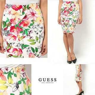 GUESS Belle High Rise Pencil Skirt