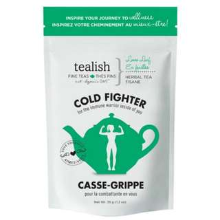 new! Tealish Cold Fighter Green Tea