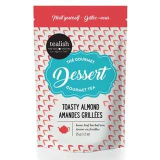 new! Tealish Dessert Gourmet Tea Toasty Almond