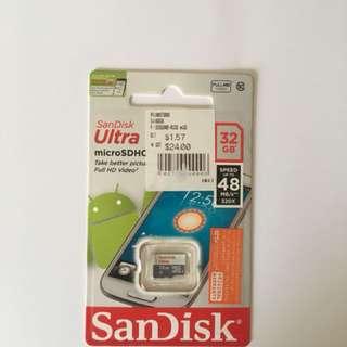 microSDHC cars 32GB