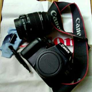 Canon 1100D with 18-55mm kitlens