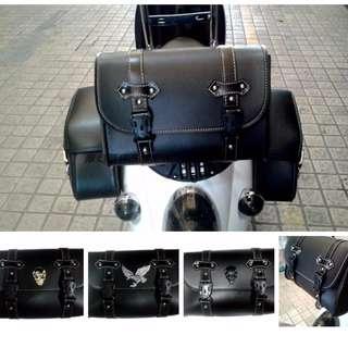 Harley davidson phantom cruisers cruiser leather pouches bags
